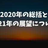 2020年の総括と2021年の展望について